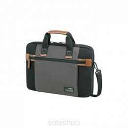 "Samsonite ETUI LAPTOP SIDEWAYS 15,6"" CZARNE/SZARE"